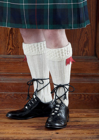 Kilt Socks in Sirdar Country Style 4 Ply (7728)-Deramores