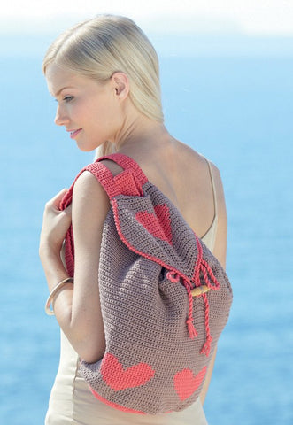 Crocheted Womens Bags in Sirdar Cotton DK (7738)-Deramores