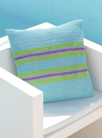 Crocheted Cushion Covers in Sirdar Cotton 4 Ply (7748)-Deramores