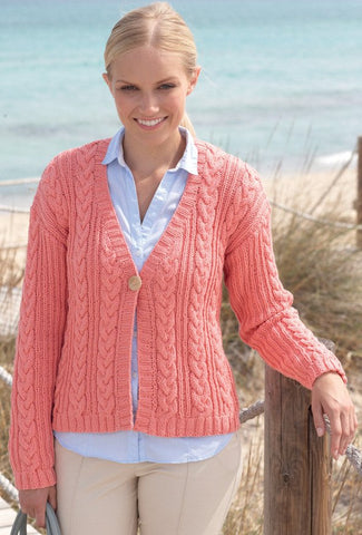 Cardigans in Sirdar Cotton Rich Aran (7753)-Deramores