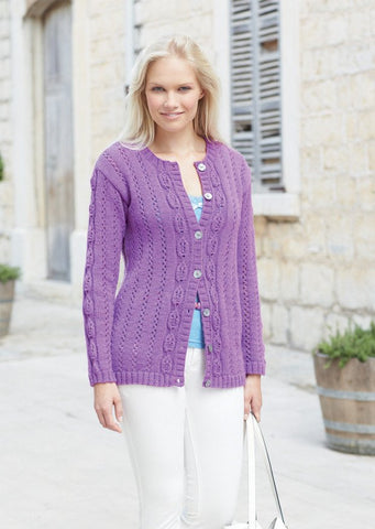 Cardigan in Sirdar Country Style DK (7757)-Deramores