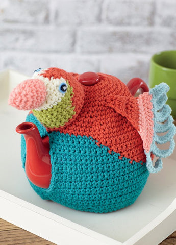 Tea Cosies in Sirdar Wash 'n' Wear Double Crepe DK (7764)