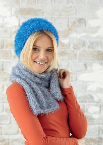 Hat, Scarf and Snood in Sirdar Touch (7783) - Digital Version-Deramores