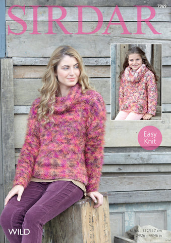 Sweater in Sirdar Wild (7969)