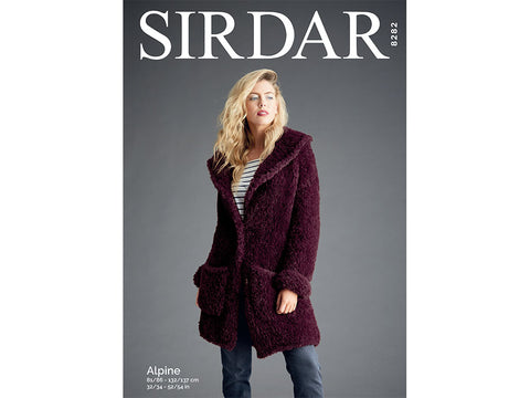 Teddy Bear Coat in Sirdar Alpine (8282)