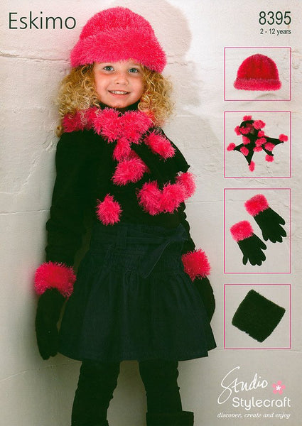 Knitting Patterns For Eskimo Wool : Buy Scarf, Hat & Gloves Knitting Patterns for Women, Men, Kids & Baby...