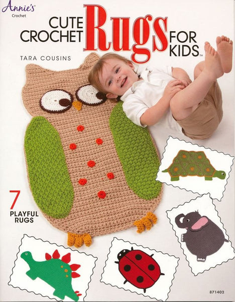 Annie's Crochet - Cute Crochet Rugs For Kids