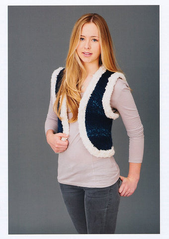 Russian Gilet In Stylecraft Swift Knit (8786)