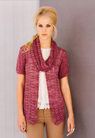 Cardigans and Snoods in Stylecraft Senses (8831)-Deramores