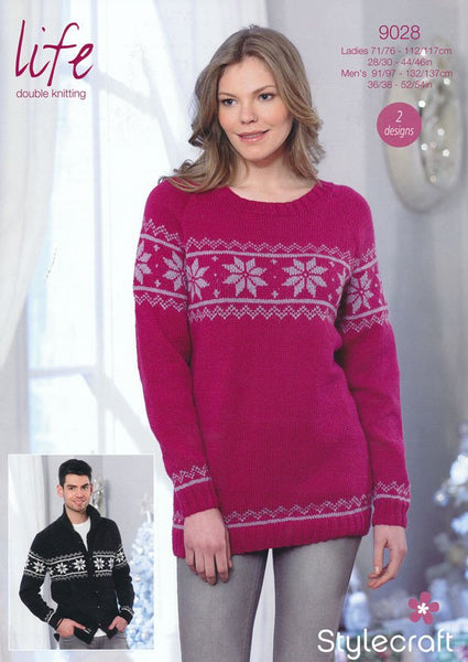 Sweater and Jacket in Life DK (9028)