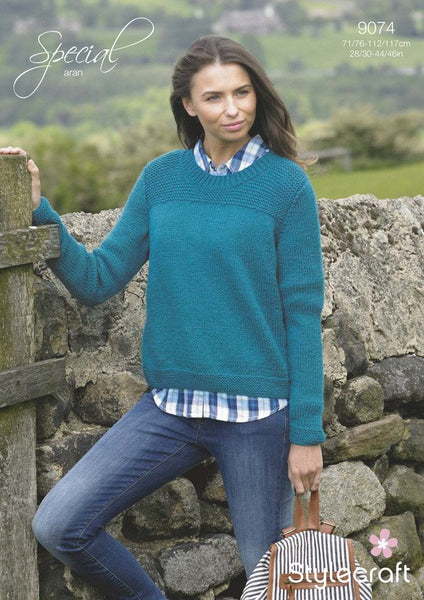 Sweater in Stylecraft Special Aran (9074)