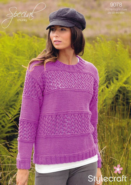 Sweater in Stylecraft Special Chunky (9078)
