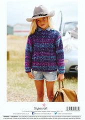 Cable Sweater and Hoodie in Stylecraft Carnival Chunky (9084)