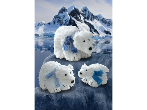 Polar Bears in King Cole Tufty (9094K)