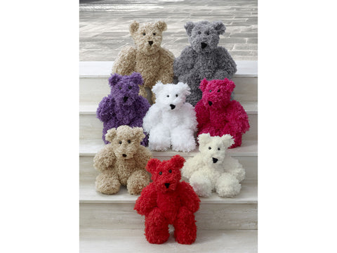 Teddies in King Cole Tufty (9101K)
