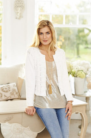 Cardigans in Stylecraft Classique Cotton DK (9131)-Deramores