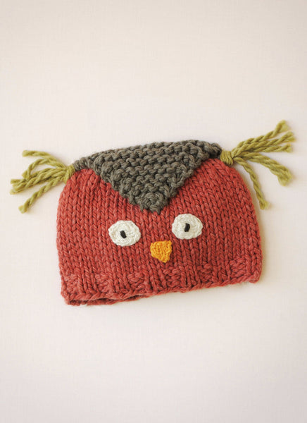 Hoot Hat in Spud & Chloe Outer
