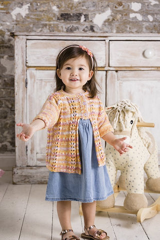 Sweater and Cardigan in Lullaby Print and Lullaby DK (9278)
