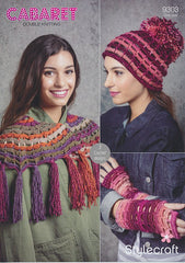 Crochet Accessories in Stylecraft Cabaret DK (9303)