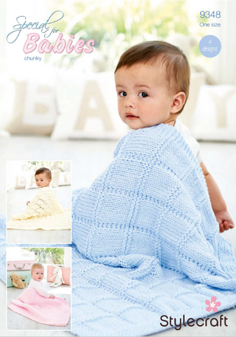Blankets in Special for Babies Chunky (9348)