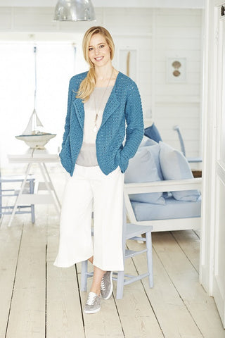 Cardigan and Tee in Stylecraft Classique Cotton DK - (9378)
