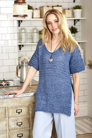 Ladies Tops in Stylecraft Mystique Quick & Light - (9380)