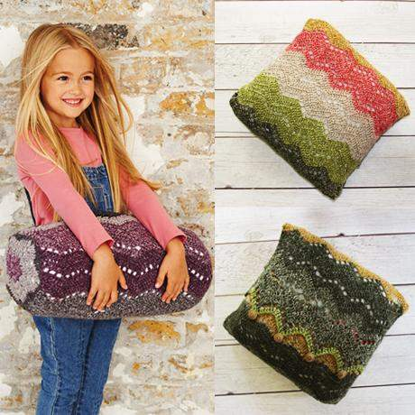 Bolster & Cushion Crochet Kit and Pattern in Stylecraft Yarn (9488)