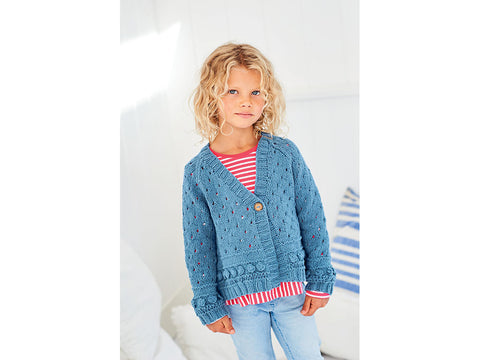 Cardigans in Stylecraft Jeanie (9612)