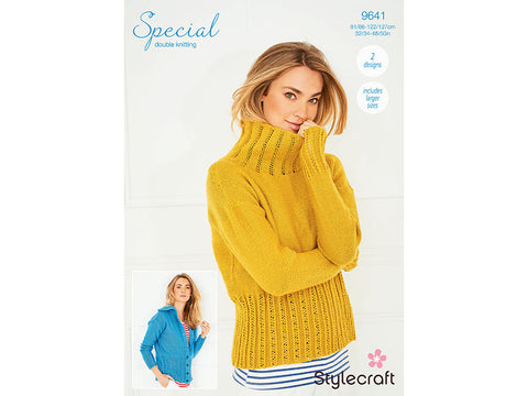 Sweater & Jacket in Stylecraft Special DK (9641)