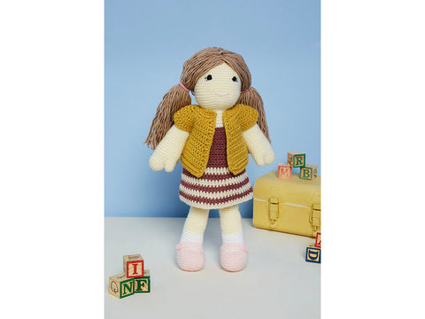 Jessie the Doll Crochet Kit and Pattern in Stylecraft Yarn (9667)