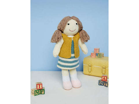 Knitted Jessie the Doll Toy in Stylecraft Special DK (9668)