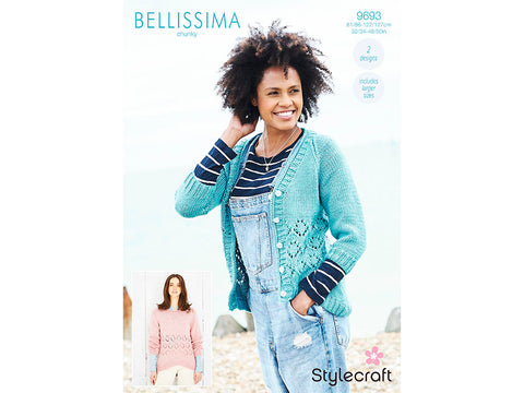 Sweater and Cardigan in Stylecraft Bellissima Chunky (9693)