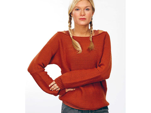 Sweater in Rico Design Essentials Soft Merino Aran (RD108)