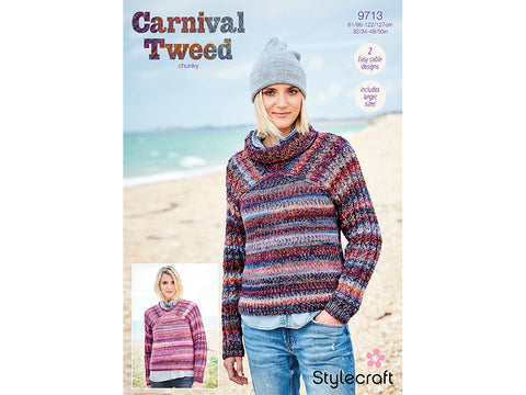 Sweaters in Stylecraft Carnival Tweed Chunky (9713)
