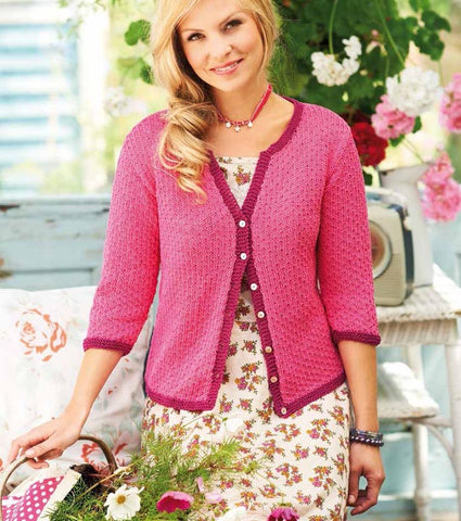 Cardigans in Rico Design Essentials Cotton DK (155) - Digital Version-Deramores