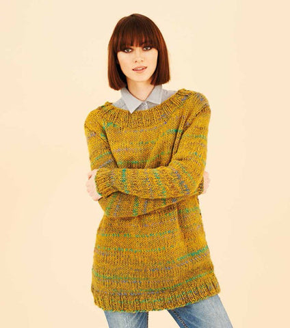 Sweaters in Rico Design Fashion Flame (278) - Digital Version
