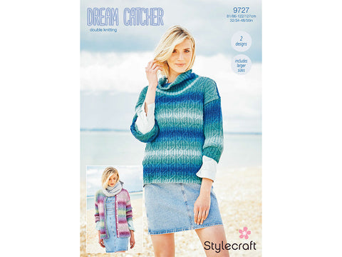 Stylecraft 9598 Knitting Pattern Snood And Mitts in Dream Catcher DK Sweater
