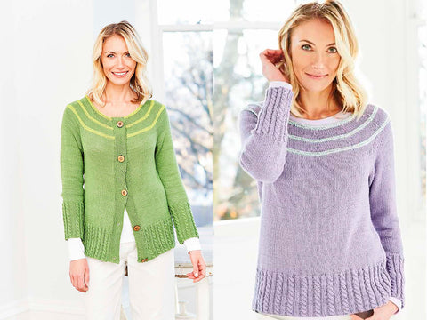 Sweater & Cardigan in Stylecraft Naturals - Bamboo and Cotton (9755)