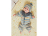 Onesie, Dress and Hat in Rico Design Baby Dream Luxury Touch DK (976)