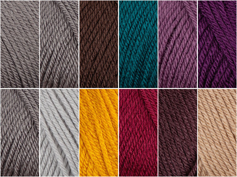 Autumn Jewels - Deramores Studio DK - Colour Pack