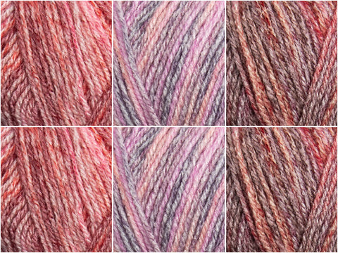 Autumn Sky Colour Pack in Hayfield Journey DK
