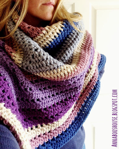 Autumn Storm Wrap - Deramores Vintage Chunky - Yarn and Pattern