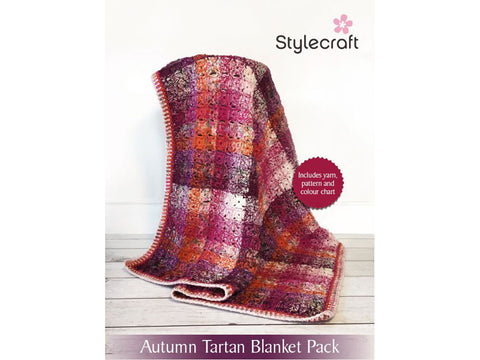 Stylecraft Tartan Blanket Yarn Packs