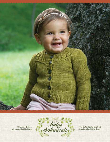 Baby Botanicals by Never Not Knitting