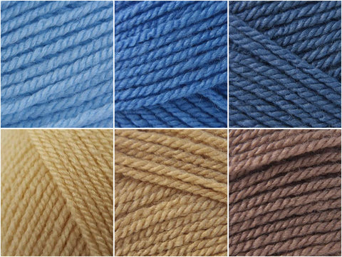 Stylecraft Special DK Baby Boy Colour Pack