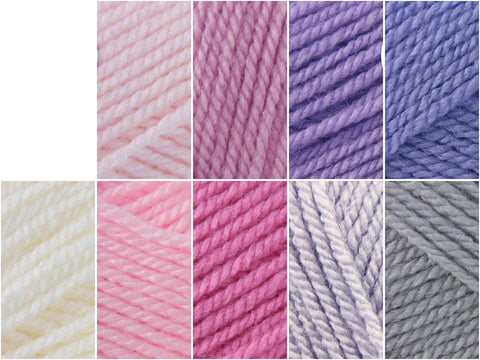 Stylecraft Special DK Baby Girl Large Colour Pack