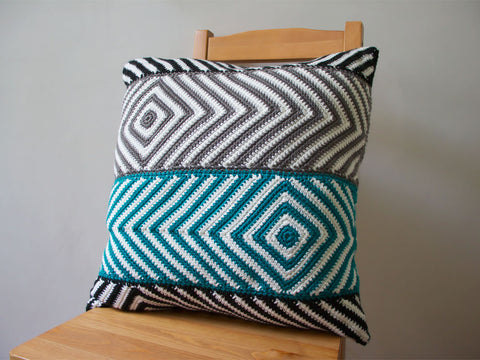 Baltic Cushion Crochet Kit and Pattern