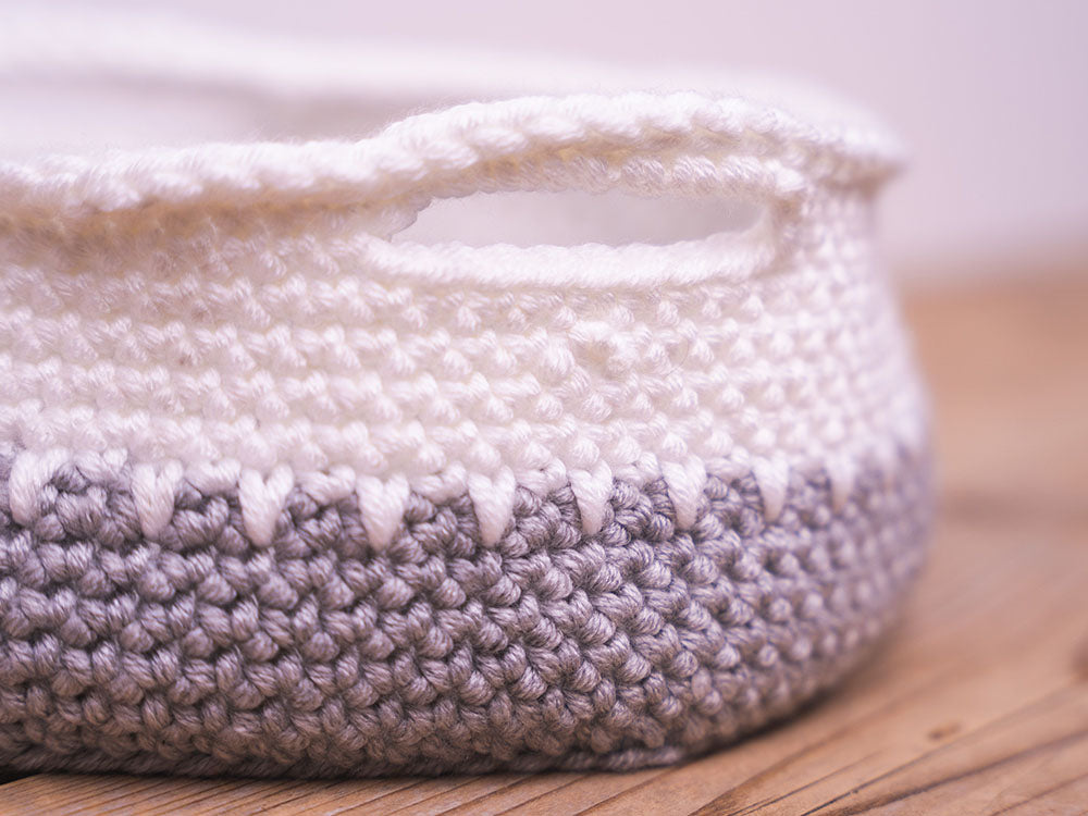 Chunky Baskets Crochet Kit and Pattern