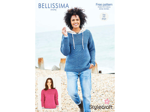 Jumpers in Stylecraft Bellissima Chunky