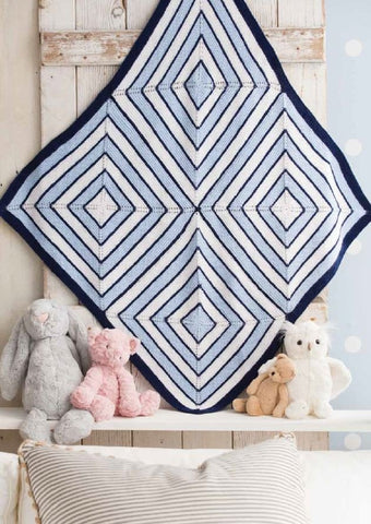 Block Blankie in Deramores Baby DK - Digital Version